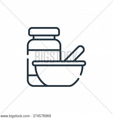 baby food icon isolated on white background from maternity collection. baby food icon trendy and mod