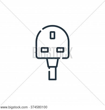 g icon isolated on white background from electrician tools and elements collection. g icon trendy an