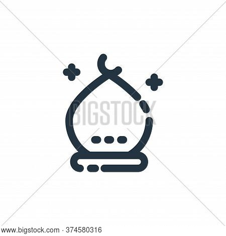 building icon isolated on white background from ramadan kareem collection. building icon trendy and