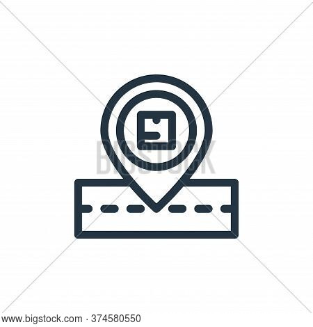 order tracking icon isolated on white background from ecommerce collection. order tracking icon tren