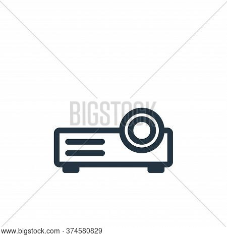 video projection icon isolated on white background from technology collection. video projection icon