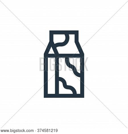 milk icon isolated on white background from nutrition collection. milk icon trendy and modern milk s