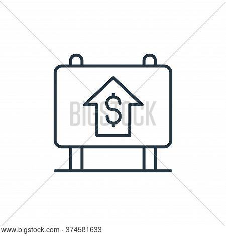 real estate icon isolated on white background from retirement collection. real estate icon trendy an