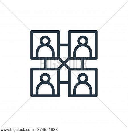 team icon isolated on white background from business collection. team icon trendy and modern team sy