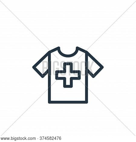 clothes icon isolated on white background from health and protection collection. clothes icon trendy