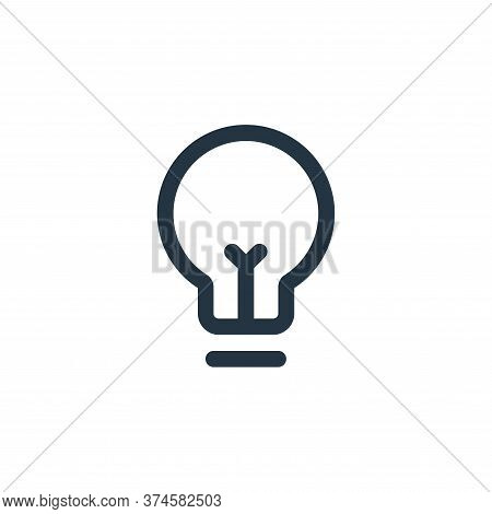 idea icon isolated on white background from business collection. idea icon trendy and modern idea sy