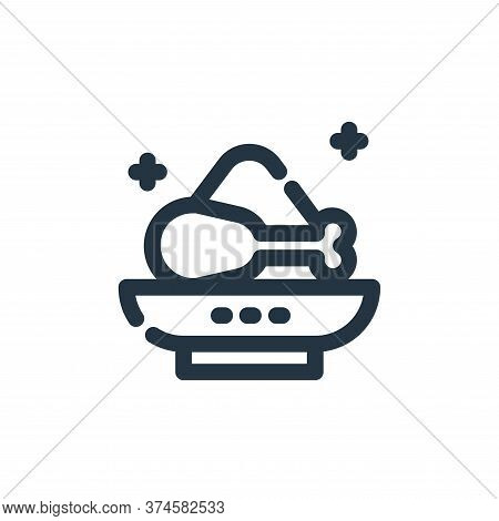 food icon isolated on white background from ramadan kareem collection. food icon trendy and modern f