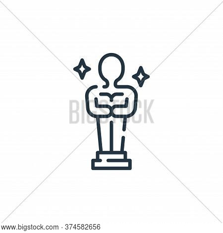award icon isolated on white background from fame collection. award icon trendy and modern award sym