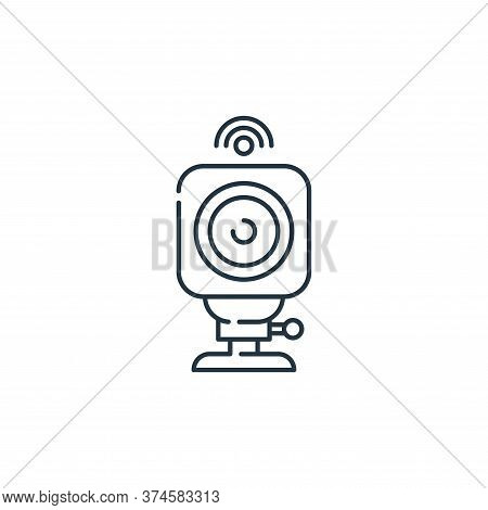 action camera icon isolated on white background from internet of things collection. action camera ic