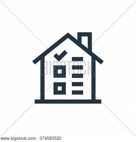 house icon isolated on white background from real estate collection. house icon trendy and modern ho