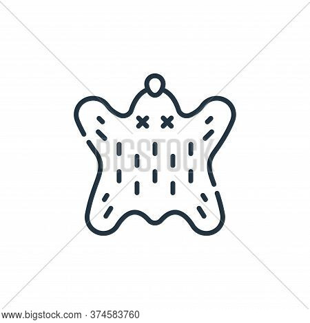 leather icon isolated on white background from animal welfare collection. leather icon trendy and mo