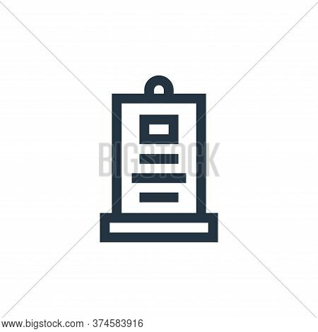 Advertisement icon isolated on white background from advertisement collection. Advertisement icon tr