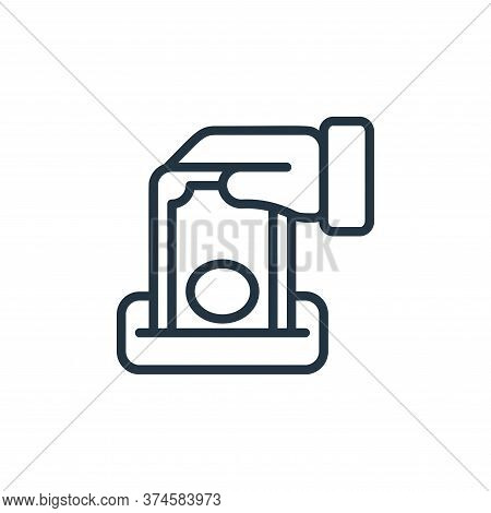 charity icon isolated on white background from money collection. charity icon trendy and modern char