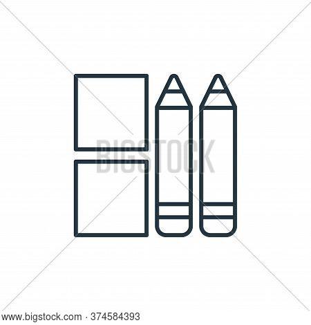 stationery icon isolated on white background from stationery collection. stationery icon trendy and