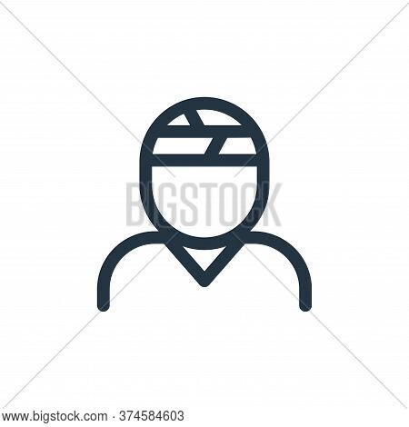 injury icon isolated on white background from health collection. injury icon trendy and modern injur