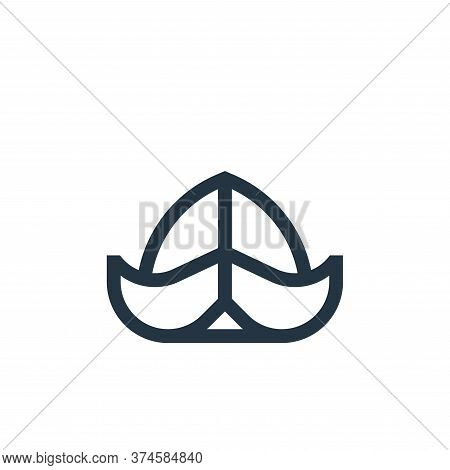hat icon isolated on white background from holland collection. hat icon trendy and modern hat symbol