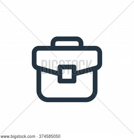 briefcase icon isolated on white background from user interface collection. briefcase icon trendy an