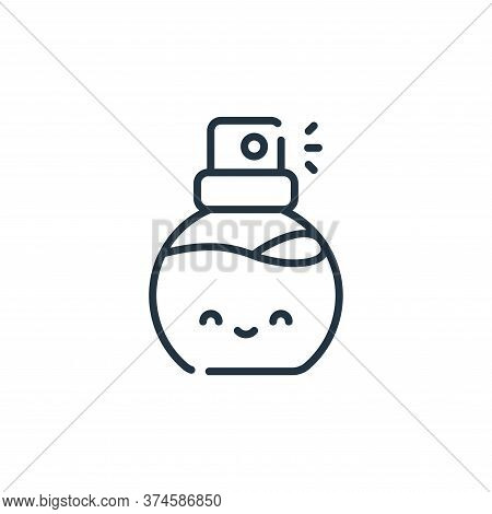 perfume icon isolated on white background from italy collection. perfume icon trendy and modern perf