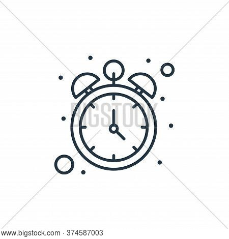 clock icon isolated on white background from islam and ramadan collection. clock icon trendy and mod