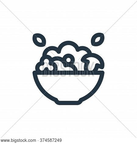 salad icon isolated on white background from health collection. salad icon trendy and modern salad s