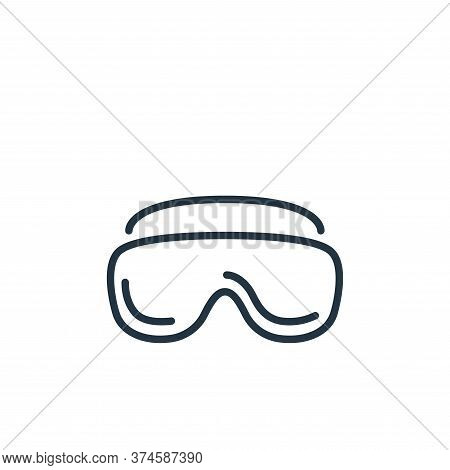 glasses icon isolated on white background from stop virus collection. glasses icon trendy and modern
