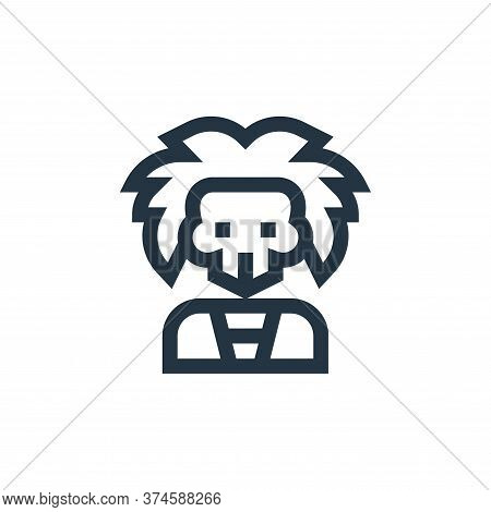 skull icon isolated on white background from rock and roll collection. skull icon trendy and modern