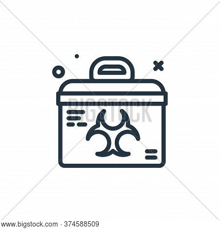 transport icon isolated on white background from coronavirus collection. transport icon trendy and m