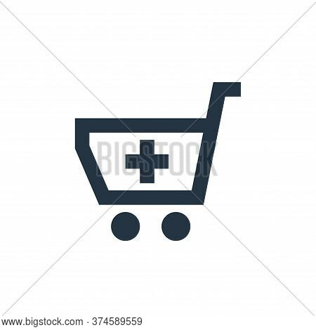 cart icon isolated on white background from user interface collection. cart icon trendy and modern c