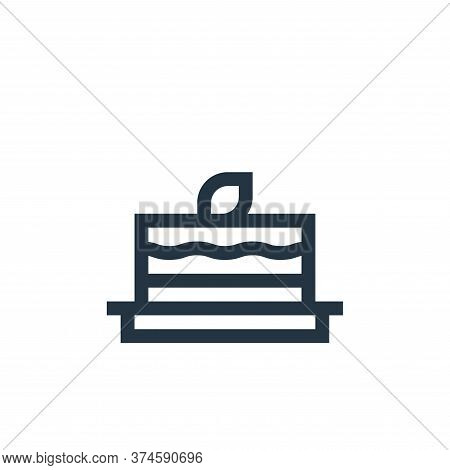 carrot cake icon isolated on white background from vegan collection. carrot cake icon trendy and mod