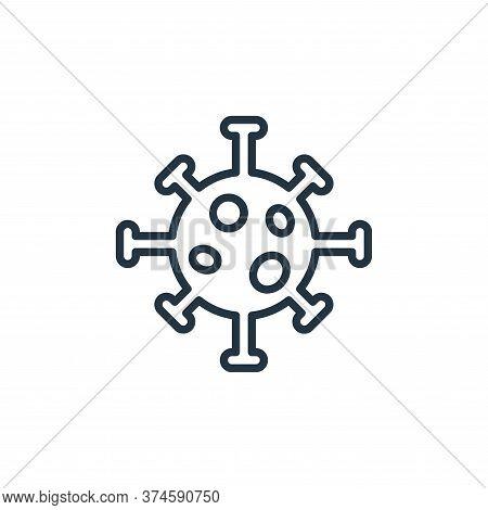 coronavirus icon isolated on white background from coronavirus collection. coronavirus icon trendy a