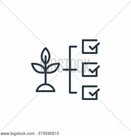 plant icon isolated on white background from smart farm collection. plant icon trendy and modern pla