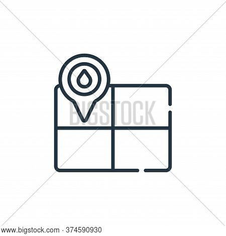 watering icon isolated on white background from smart farm collection. watering icon trendy and mode