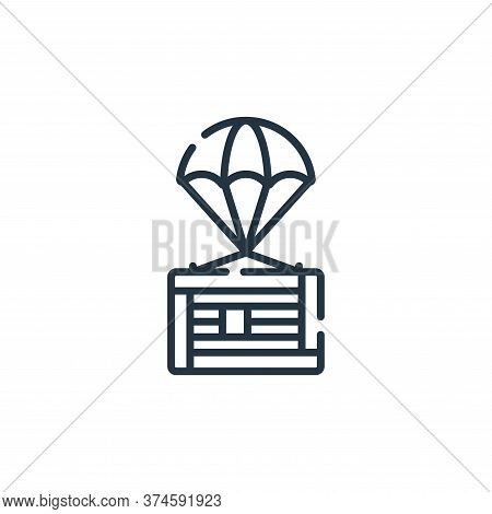 supplies icon isolated on white background from hope collection. supplies icon trendy and modern sup