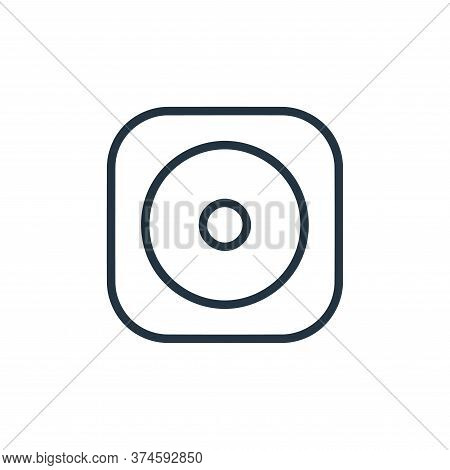 cds icon isolated on white background from hardware and gadgets collection. cds icon trendy and mode