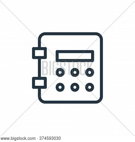 deposit icon isolated on white background from work office supply collection. deposit icon trendy an