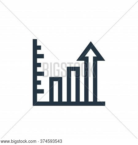 profits icon isolated on white background from marketing and growth collection. profits icon trendy