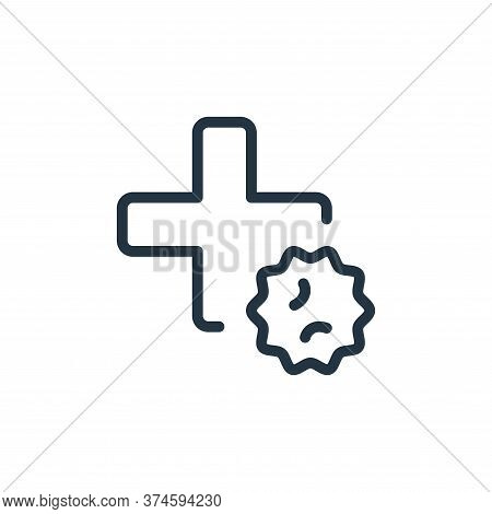 medication icon isolated on white background from coronavirus collection. medication icon trendy and
