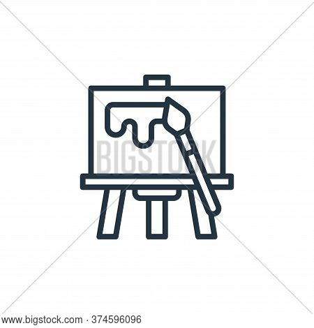 painting icon isolated on white background from graphic design collection. painting icon trendy and