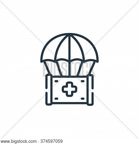 humanitarian icon isolated on white background from kindness collection. humanitarian icon trendy an