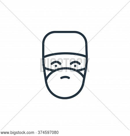 doctor icon isolated on white background from covid collection. doctor icon trendy and modern doctor