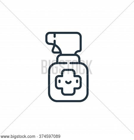 spray icon isolated on white background from pets collection. spray icon trendy and modern spray sym