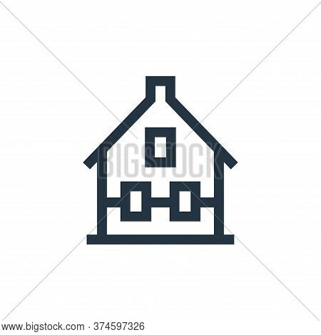 house icon isolated on white background from holland collection. house icon trendy and modern house