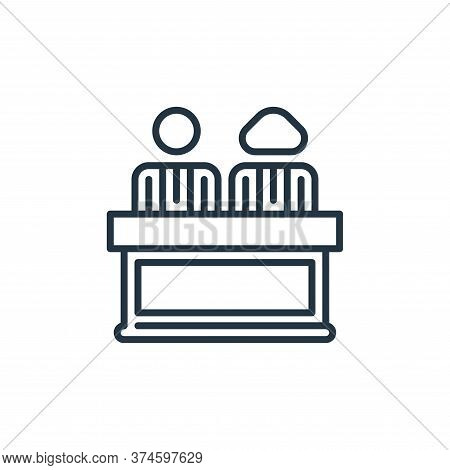 director icon isolated on white background from management collection. director icon trendy and mode