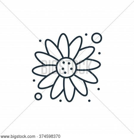 sunflower icon isolated on white background from brazilian carnival collection. sunflower icon trend