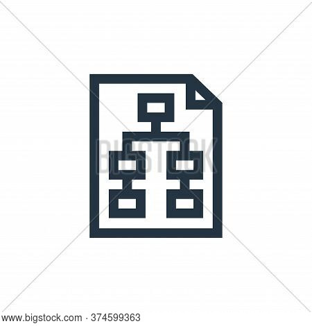 planning icon isolated on white background from marketing and growth collection. planning icon trend