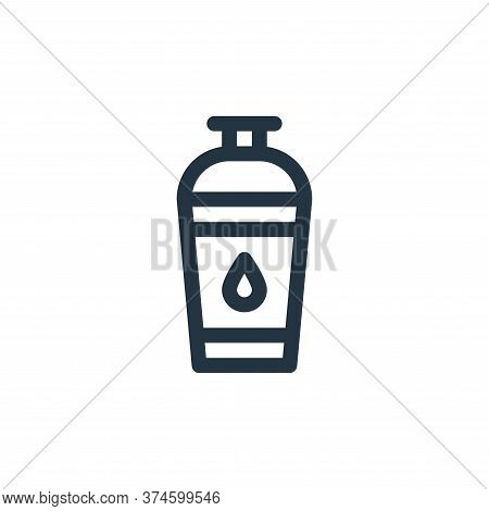 water bottle icon isolated on white background from pilates collection. water bottle icon trendy and