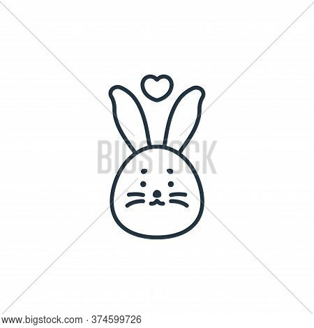cruelty free icon isolated on white background from beauty cosmetics collection. cruelty free icon t