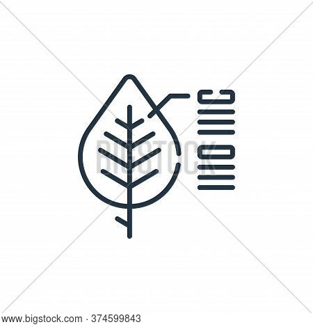 info icon isolated on white background from smart farm collection. info icon trendy and modern info