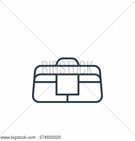 bag icon isolated on white background from carpentry collection. bag icon trendy and modern bag symb