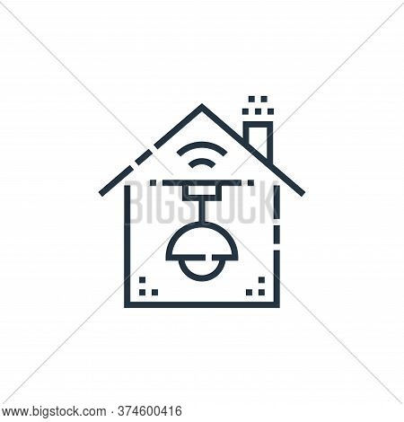 light control icon isolated on white background from smarthome collection. light control icon trendy